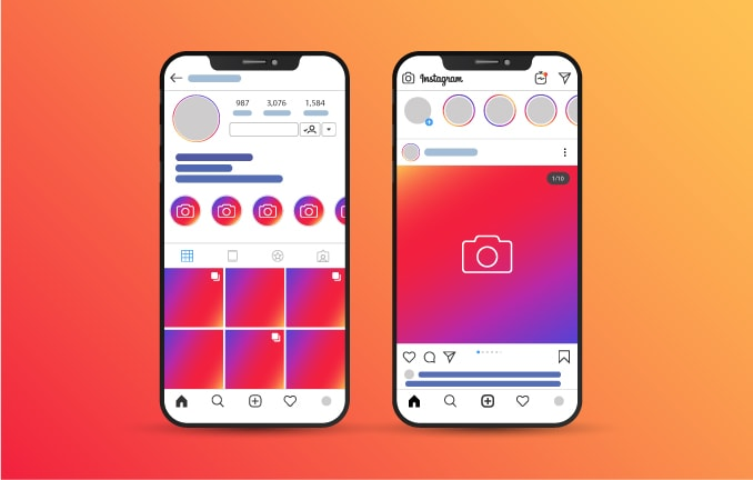 how to fill your Instagram profile